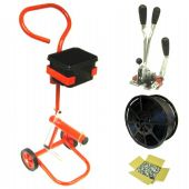 Hand Strapping Kit with Mobile Trolley, Combi Tool, Strapping & Seals (Kit C2)